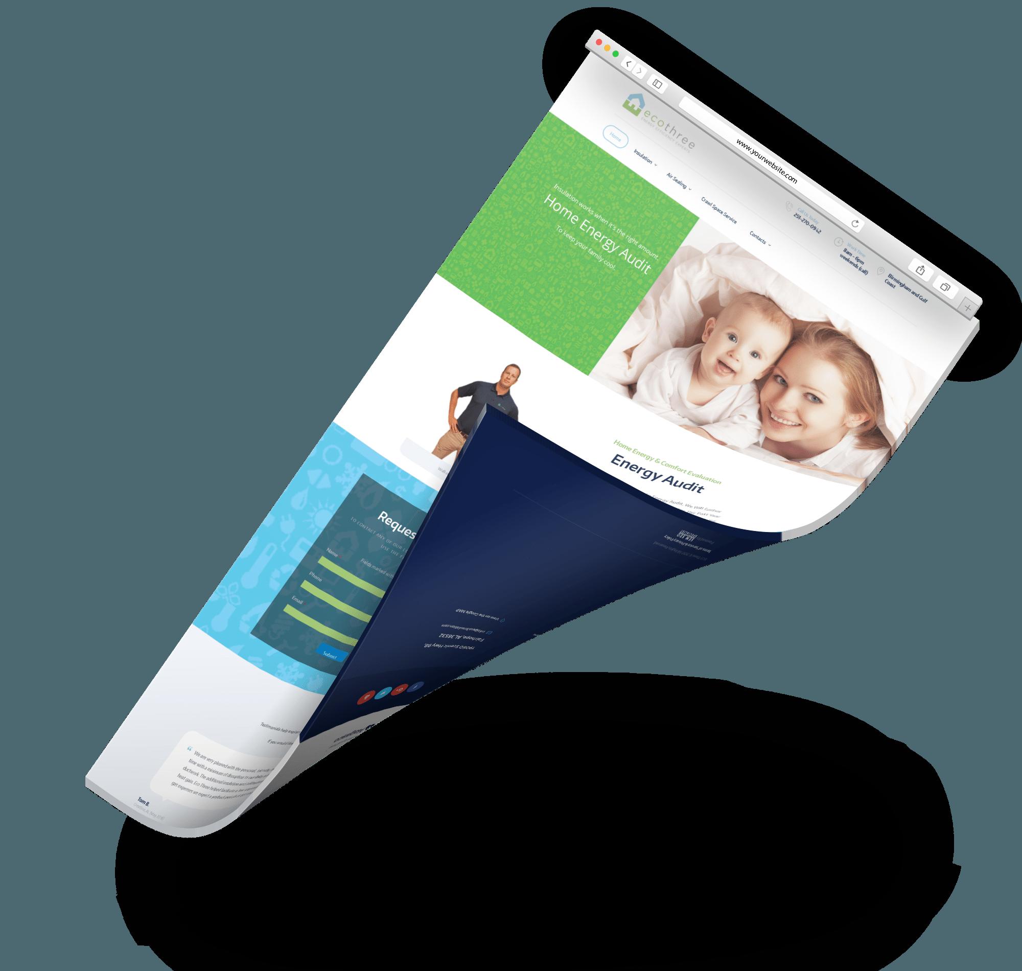 eco three web design service sem seo specialist