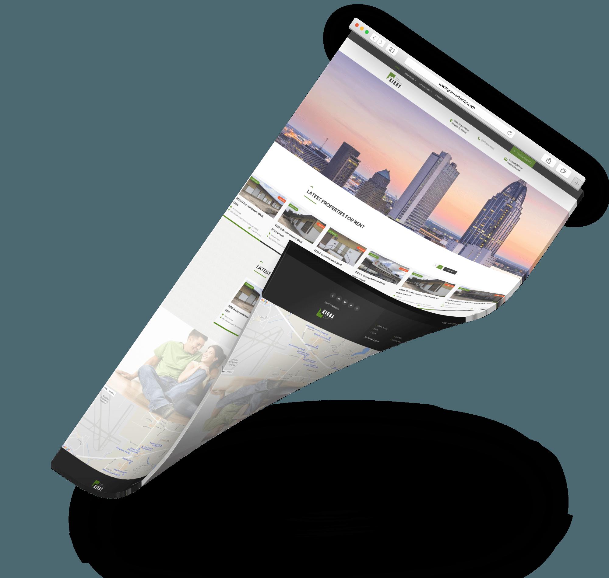 kirby real estate web design sem seo specialist